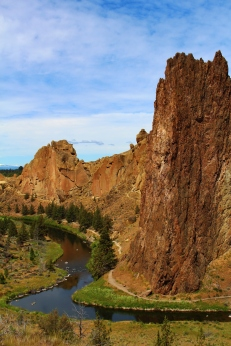 Views from the Misery Ridge, Smith Rock, OR